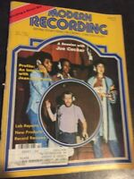 "Modern Recording Magazine Vol.3 No.7 April 1978 ""A Session With Joe Cocker"""