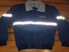 Reflective work employee rental Jacket Motorsports Volvo rents rare size large