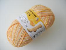 Sockenwolle Regia Cotton TUTTI Frutti orange Color 50g