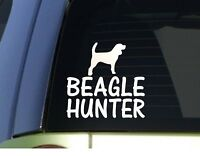 Rabbit Hunter Beagle Decal :: $3.39 with FREE shipping.  Click here to order on eBay.