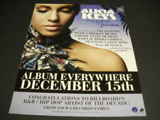 Alicia Keys will be Everywhere on December 15, 2009 Promo Poster Ad .Freedom