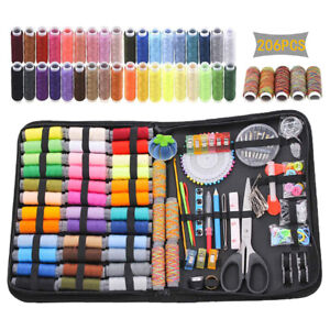 206Pcs/Set Sewing Kit Scissors Needle Thread For Home Stitching Hand Sewing T YD
