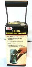 Itt 2in1 can crusher/ bottle opener
