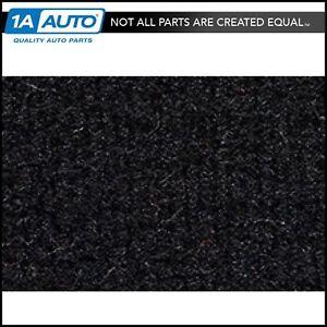4 Door 801-Black Plush Cut Pile ACC Replacement Carpet Kit for 1992 to 1998 Oldsmobile Achieva