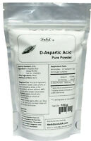 D-Aspartic Acid DAA Pure Powder 100g (3.52oz Muscle Building Energy Male Health