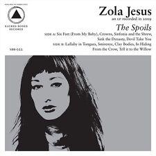 ZOLA JESUS The Spoils - LP / Vinyl + Download Card - 2010