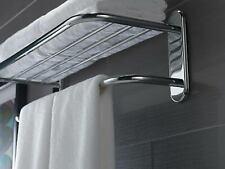 "43024 24"" Towel Shelf w/ 1 Bar Concealed Mount Polished Chrome"