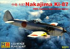 RS Models 1/72 NAKAJIMA Ki-87 Japanese High Altitude Fighter