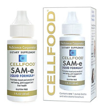 Cellfood Sam-e Liquid Formula +, 1 oz. - Superior Absorption, Helps Support Mood