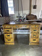 Vintage Drexel Heritage Wood Desk