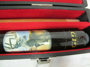 GLD PRODUCTS BILLIARD POOL CUE STICK WITH CASE DEER GRAPHICS