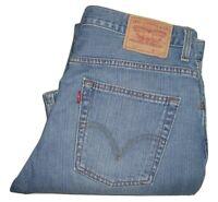 Mens LEVI'S 507 Blue (0508) Bootcut Denim Jeans W36 L34
