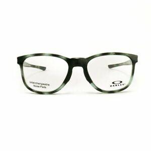 Oakley Cloverleaf MNP Gray Tortoise PLASTIC Eyeglasses OX8102-0555 52-18-135 NEW