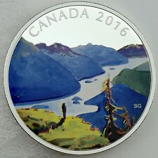 2016 $20 Canadian Landscapes: Reaching the Top, 99.99% Pure Silver Color Proof