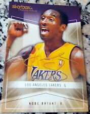 KOBE BRYANT 2004 Fleer Skybox AUTOGRAPHICS GOLD RARE SP 037/150 Lakers MVP HOF $
