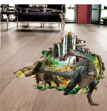 3D World of Dinosaurs Room Home Decor Removable Wall Sticker Decal Decoration