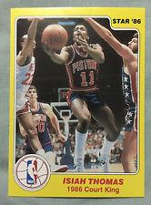 1986 Star Court Kings Isiah Thomas #28