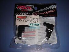 Yokomo Drift D-Max Aluminum Rear Hub/Toe-in 0/BK (RC926)