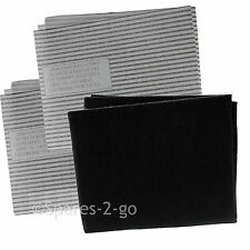 Cooker Hood Filters Kit for LOGIK Extractor Fan Vent Grease Carbon Filter