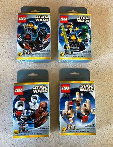 LEGO STAR WARS (2000) -- Minifigure Set 1 2 3 4 (3340 3341 3342 3343) -- SEALED