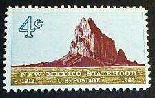 U.S. Scott 1191- New Mexico Statehood, 50 Years, Shiprock- MNH OG F-VF 4c 1962