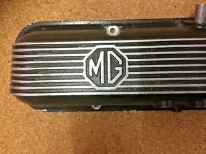MGB GT V8 ENGINE VALVE COVER L/H SIDE BHH1209 VERY RARE VINTAGE MG B NOS OE MG