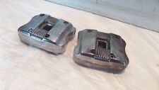Discolored Harley Sportster 883 & 1200 Chrome Cylinder Head Cover Rocker Boxes