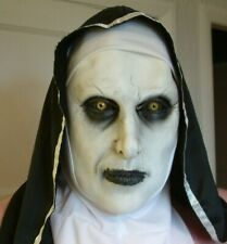VALEK The Nun Deluxe Plus Sized Costume and two Latex Masks.
