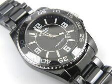Gent's Rotary CEBBS-19 Ceramique Black Divers Watch - 100m