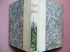 Paris, R Escholier Alpina 1941 Illustrated, Colour plates luxury binding. French