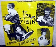 THE STAIN I Know The Scam LP PUNK ROCK Hardcore BATTALION OF SAINTS Social Spit