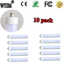 """10pcs 96"""" T8 T12 LED Tube Light 8ft 40Watt (75W equivalent) 5500K 110V to 277VAC"""