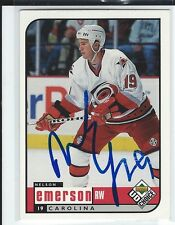 Nelson Emerson Signed 1998/99 UD Choice Card #43