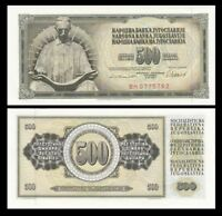 YUGOSLAVIA 500 Dinara, 1981, P-91, UNC World Currency