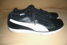 MEN'S BLACK / WHITE PUMA CLYDE SNEAKERS SIZE 11 1/2