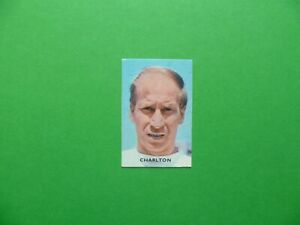 Trading cards Bobby Charlton football stars Manchester United  Victoria Parade