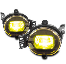 BUMPER YELLOW LED FOG LIGHTS FOR 2002-2009 DODGE RAM 1500/2003+ 2500 3500 PICKUP