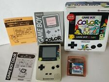 Nintendo Gameboy Color Pokemon Center Limited Edition console Boxed tested-b1128