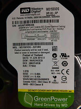 Western Digital 1,5 TB WD15EVDS-63T3B0 DCM:HARCHV2CB   11JUN2014   disco rigido