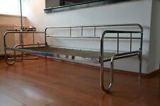 Original Chrom Stahlrohrsofa Daybed Sofa Liege Bauhaus Art Deco 1935 Bett