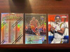 1997-98 Finest Refractor #100 Checklist Michael Jordan Kobe Bryant