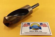 """1-1/2"""" Drill Bit USA 1-1/2 Silver & Deming Bit COBALT Lifetime Warranty USA MADE"""