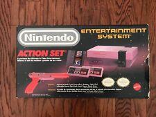 Original NES Action Set Nintendo 1988 Console w/ Zapper RARE
