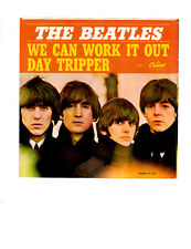 THE BEATLES-WE CAN WORK IT OUT / DAY TRIPPER-7.0/8.0