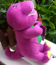 "Best Gift Barney The Dinosaur Sing I LOVE YOU song Purple 7""Plush Soft ToyDoll"