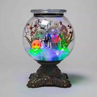 Hyde & Eek Boutique Halloween Animated Decorative Fishbowl Skeleton Fish TARGET