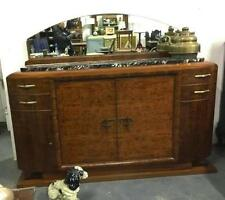 Walnut Art Deco Original Antique Cabinets & Cupboards