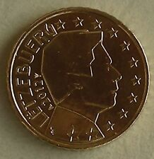 50 euro cent Luxemburgo 2012 unz