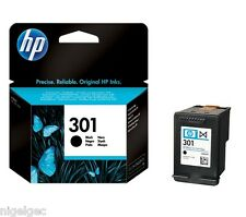 HP 301 BLACK ORIGINAL INK CARTRIDGE CH561EE FOR DESKJET 1050 2050 HP301