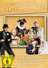 19 DVDs * TSCHECHISCHE FILMKLASSIKER BOX ~ u.a. PAN TAU MÄRCHENBRAUT # NEU OVP §